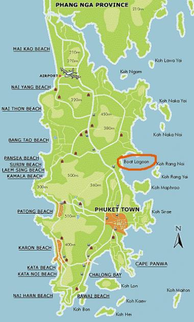 Karta Phuket.Tsk Thailand 2004 Elit Och A2 Phuket Karta